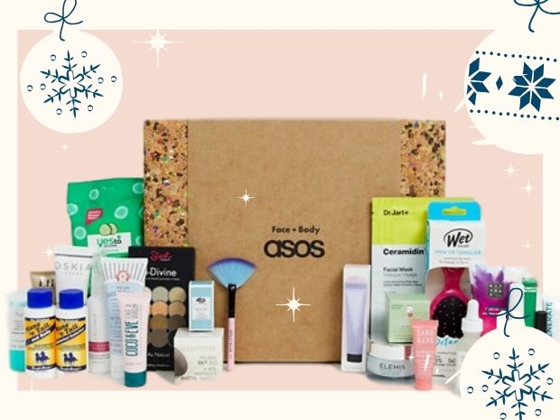 asos calendario beauty