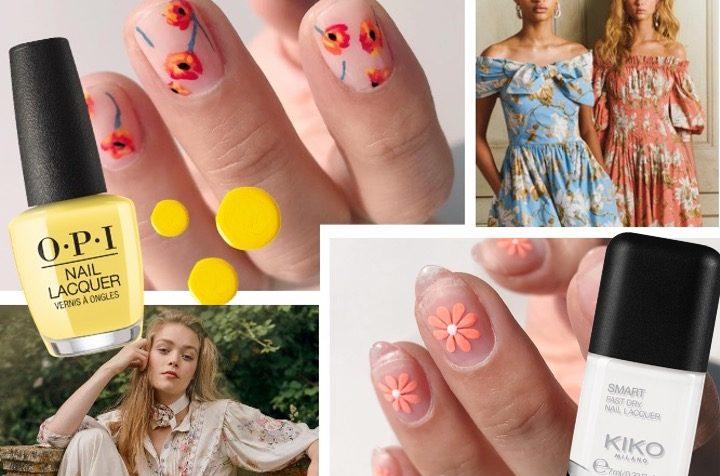 La manicure 2020 è a fiori! Guida fai da te
