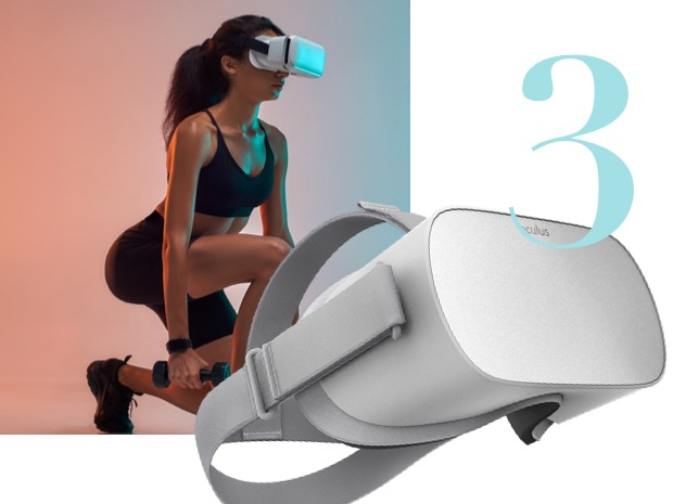 palestra virtuale oculus go