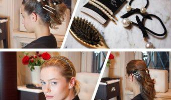 Acconciature d'effetto in 4 mosse con i nuovi hair pin