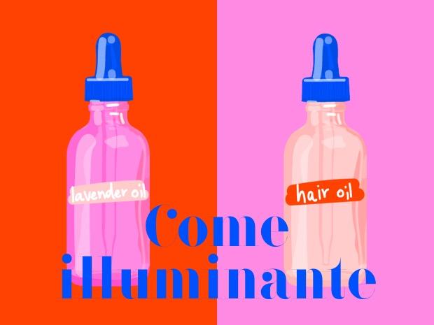 olio effetto glow