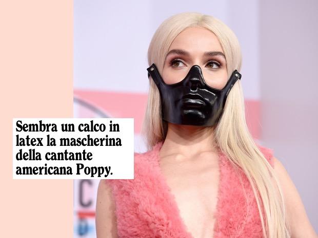poppy mascherina