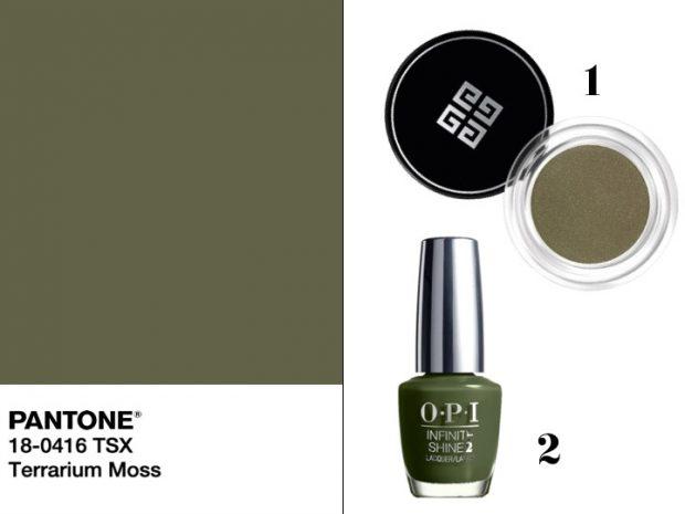 makeup verde muschio pe2019