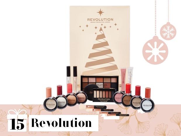 make up revolution calendario avvento 2018