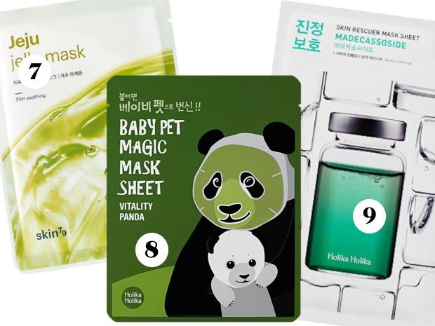sheet mask coreane