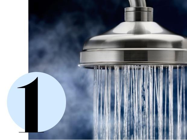 a che temperatura fare la doccia