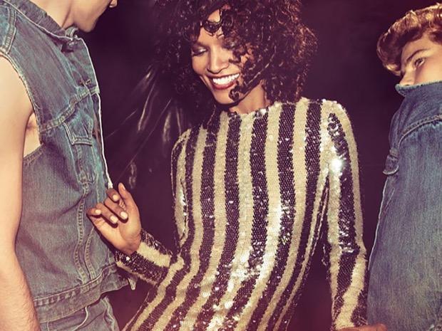 vestito glitter