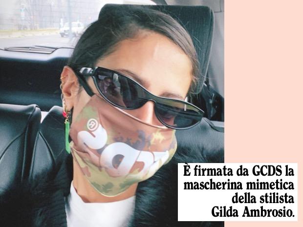 Gilda ambrosio mascherina