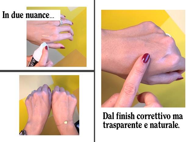 crema colorata pelli sensibili