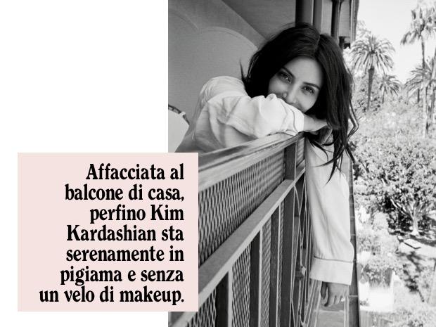 kim kardashian senza trucco
