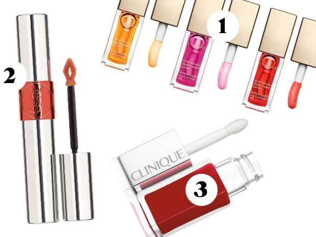 lip oil clarins