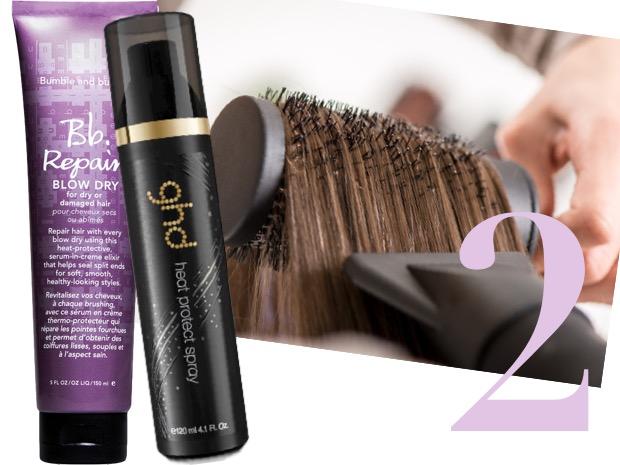 asciugare capelli senza rovinarli