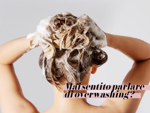 shampoo per capelli unti