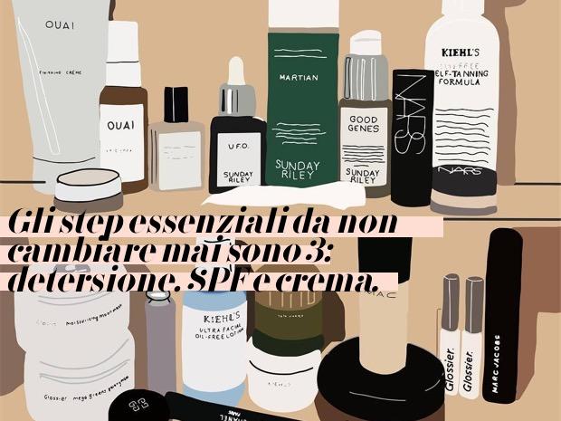 consigli sulla beauty routine