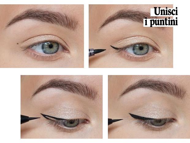 7 modi mettere eye-liner facilitato