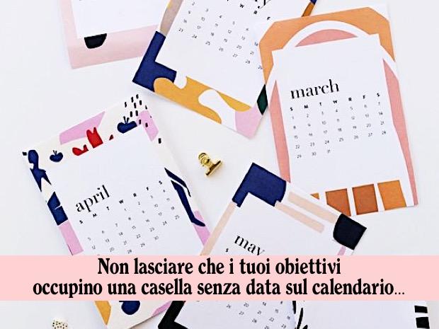 calendario dieta
