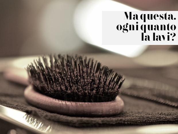 come spazzolare capelli