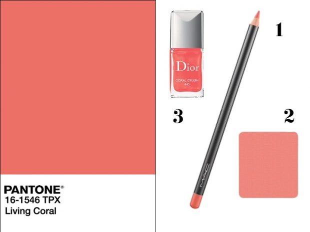 makeup arancio corallo estate 2019