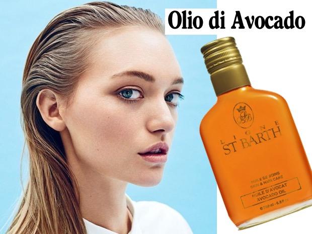 olio avocado capelli grassi