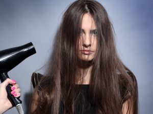 come asciugare capelli