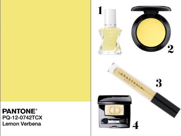 makeup lemon verbena pantone 2019