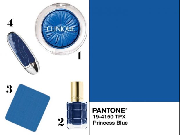 makeup pantone blu princess