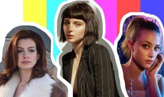 Copia capelli dalle serie tv