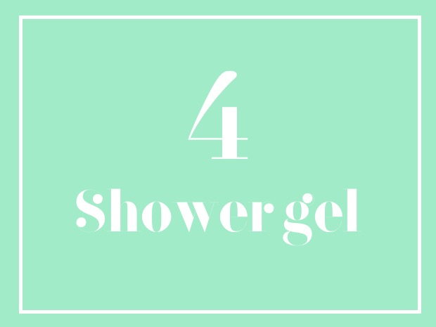shower gel top 2018