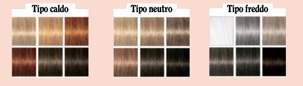 tonalità capelli