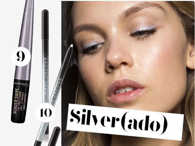 eyeliner matita argento