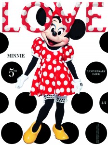 LOVE 10 Minnie Mouse Cover
