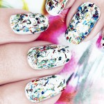Manicure con Graffiti con Nails Inc.