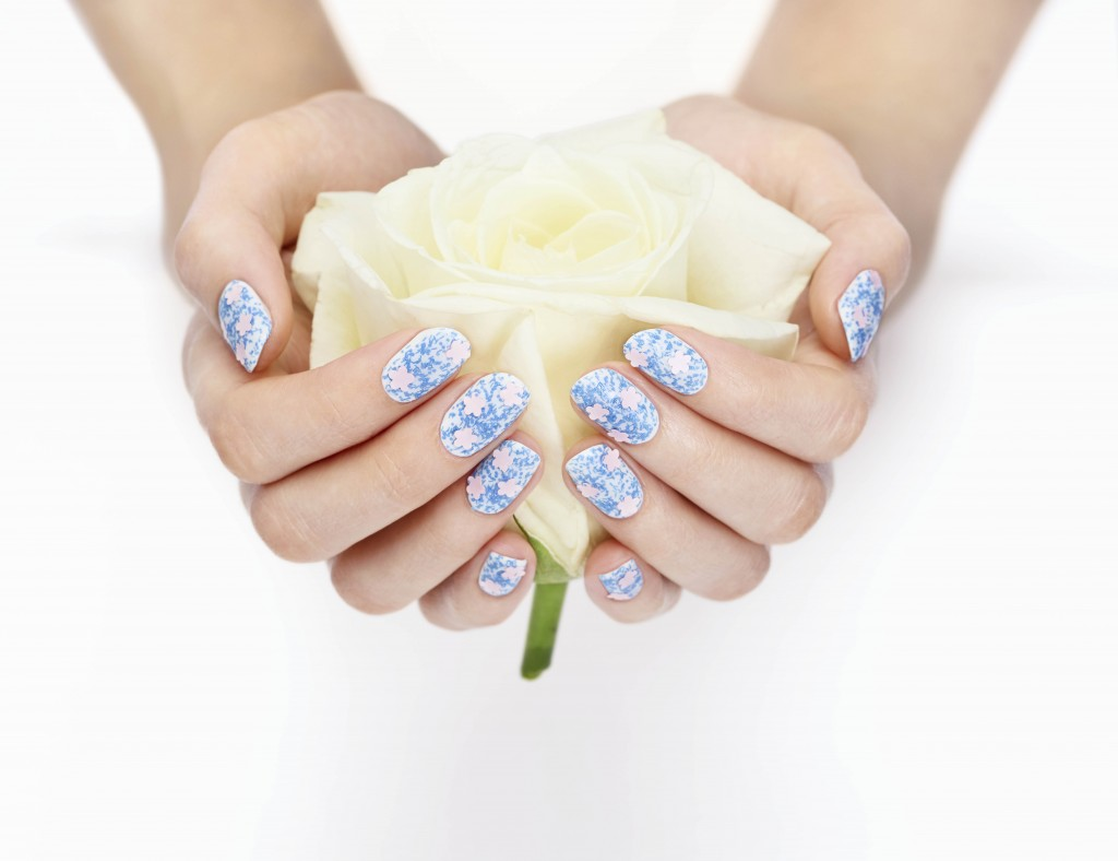 Nails Inc - Floral Manicure
