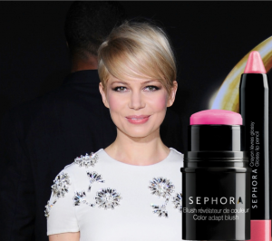 Trucco pink naturale come Michelle Williams