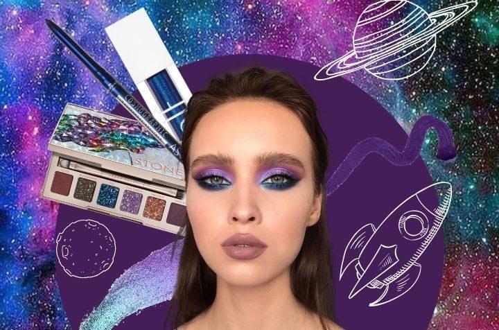 Il make up 2021 si ispira ai colori dell'universo