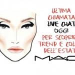 Live chat con il senior artist Michele Magnani di M.A.C. Cosmetics