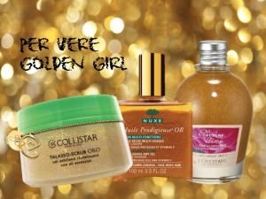 Dal trucco alla pelle, investiamo nell'oro.