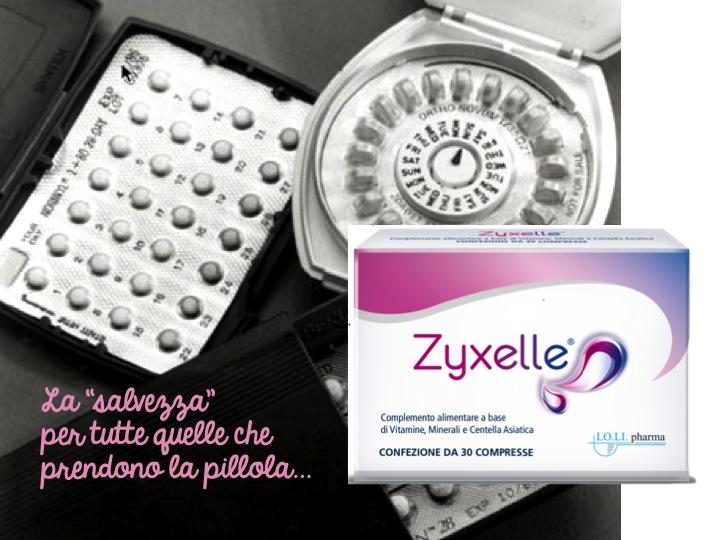 Arriva Zyxelle, il primo integratore contro gli effetti collaterali della pillola